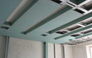 Монтаж двухуровневого потолка из гипсокартона: видео-инструкция по установке своими руками, фото