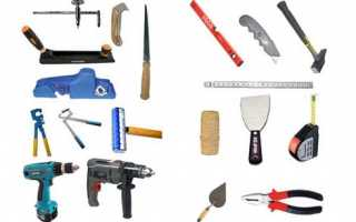 Инструмент для гипсокартона, монтаж ГКЛ своими руками: инструкция, фото и видео-уроки