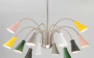 Выбор и установка люстры на подвесной потолок