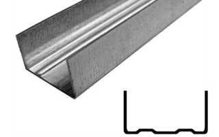 Профили для гипсокартона от Кнауф — фото и описание потолочных, стеновых, усиленных комплектующих