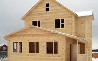 Отделка дома из не строганного бруса