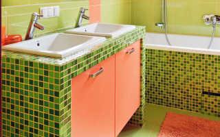 Столешницы и ниши из гипсокартона для ванной комнаты, как заделать углы и обшить ванну своими руками