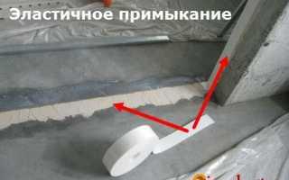 Особенности монтажа пазогребневой плиты: эластичное и монолитное примыкание