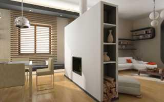 Как разделить комнату на две зоны перегородкой — делаем зонирование с помощью гипсокартона