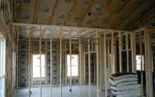 Отделка стен гипсокартоном в деревянном доме: видео-инструкция по монтажу внутренней обшивки своими руками, фото