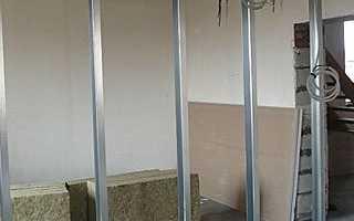 Как сделать перегородку из гипсокартона в комнате своими руками, предел огнестойкости гипсокартонных стенок, устраиваем в квартире угловую арку с полочками: инструкция, фото и видео-уроки