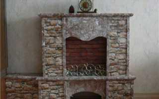 Фальш-камины из гипсокартона своими руками, создание имитации огня: инструкция, фото и видео-уроки