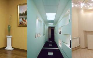 Как сделать нишу в стене из гипсокартона — монтаж, оформление, фото дизайнов