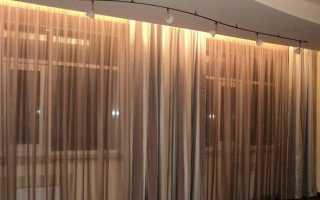 Ниша для штор из гипсокартона: видео-инструкция — как сделать своими руками, установка под карниз, фото