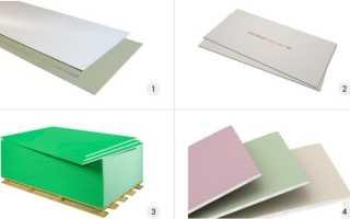 Технические характеристики гипсокартона — вес, состав, теплопроводность и другие свойства ГКЛ