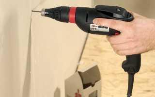 Шуруповерт для гипсокартона: видео-инструкция по монтажу своими руками, какие насадки использовать, особенности Hilti SD 5000, фото