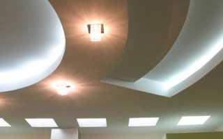 Потолок из гипсокартона своими руками: видео-инструкция по монтажу, фото
