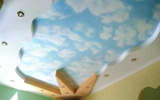 Потолки из гипсокартона в детской комнате: дизайн, инструкция по монтажу своими руками гипсокартонной потолочной конструкции, видео, фото