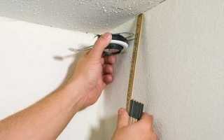 Разметка потолка под гипсокартон: видео-инструкция по монтажу своими руками, как разметить правильно, фото