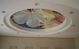 Рисунки потолков из гипсокартона: видео-инструкция по монтажу своими руками, примеры оригинальных узоров, фото