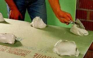 Гипсокартон на клей: видео-инструкция — как крепить своими руками, выравнивание стен, технология монтажа, фото
