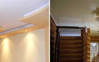 Как сделать потолок из гипсокартона своими руками — правильный монтаж и отделка ГКЛ
