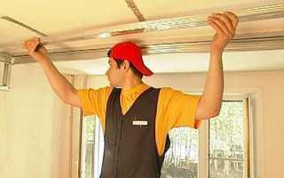 Как сделать потолок из гипсокартона — видео, сооружаем конструкцию правильно своими руками: инструкция, фото-уроки