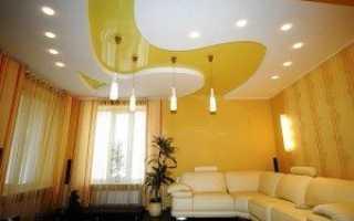 Светильники для потолков из гипсокартона точечные, инструкция по монтажу своими руками, фото и видео