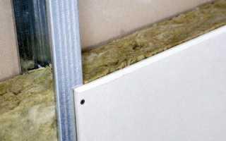 Утеплитель под гипсокартон: как утеплить стену изнутри минватой, балкон, лоджию своими руками, инструкция, фото, видео-уроки