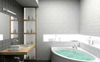Потолок в ванной из гипсокартона: видео-инструкция по монтажу своими руками, фото