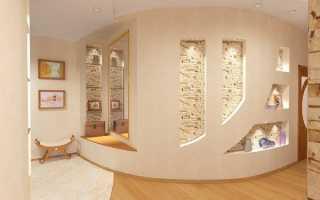 Гипсокартон в интерьере, конструкции из ГКЛ, дизайн своими руками: инструкция, фото и видео-уроки