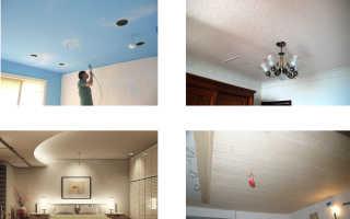 Потолки из гипсокартона в коридоре — фото отличных дизайнов в прихожих