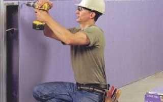 Как монтировать гипсокартон на стену правильно: видео-инструкция по монтажу своими руками, фото