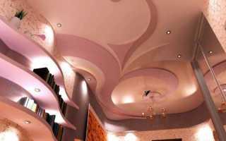 Проекты потолков из гипсокартона: видео-инструкция по монтажу гипсокартонных потолочных конструкций своими руками, дизайн, фото