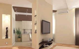 Декоративные перегородки из гипсокартона, устройство арок в интерьере комнаты своими руками: инструкция, фото и видео-уроки