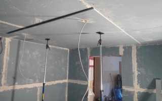 Как штукатурить потолок из гипсокартона правильно: делаем выравнивание штукатуркой по фото и видео