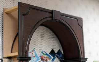 Установка межкомнатной арки