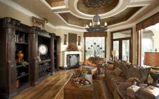 Потолок из гипсокартона в гостиной своими руками, инструкция с фото и видео
