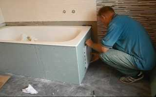 Гипсокартон в ванной комнате — как обшить и отделать помещение с ипользованием влагостойких листов