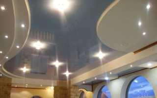 Навесной потолок из гипсокартона — инструкция, как сделать своими руками с помощью видео и фото