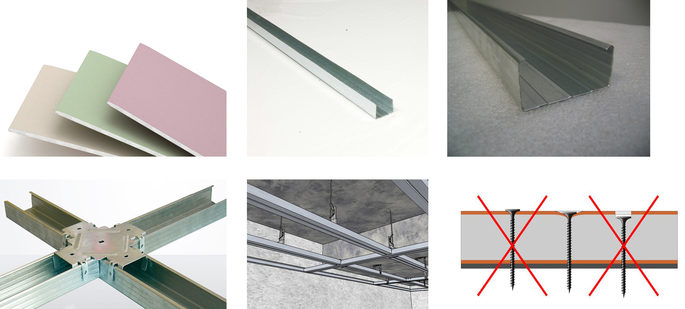 Инструменты для обшивки потолка