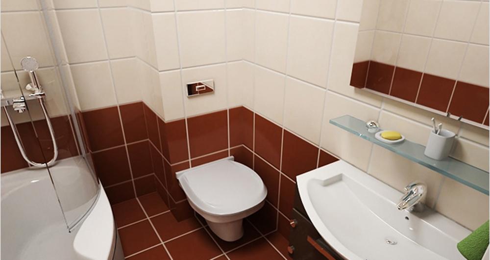 Результат после того как зашили трубы в туалете