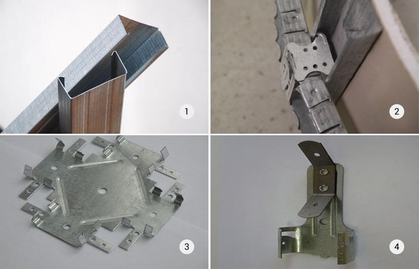 Профили металлического каркаса