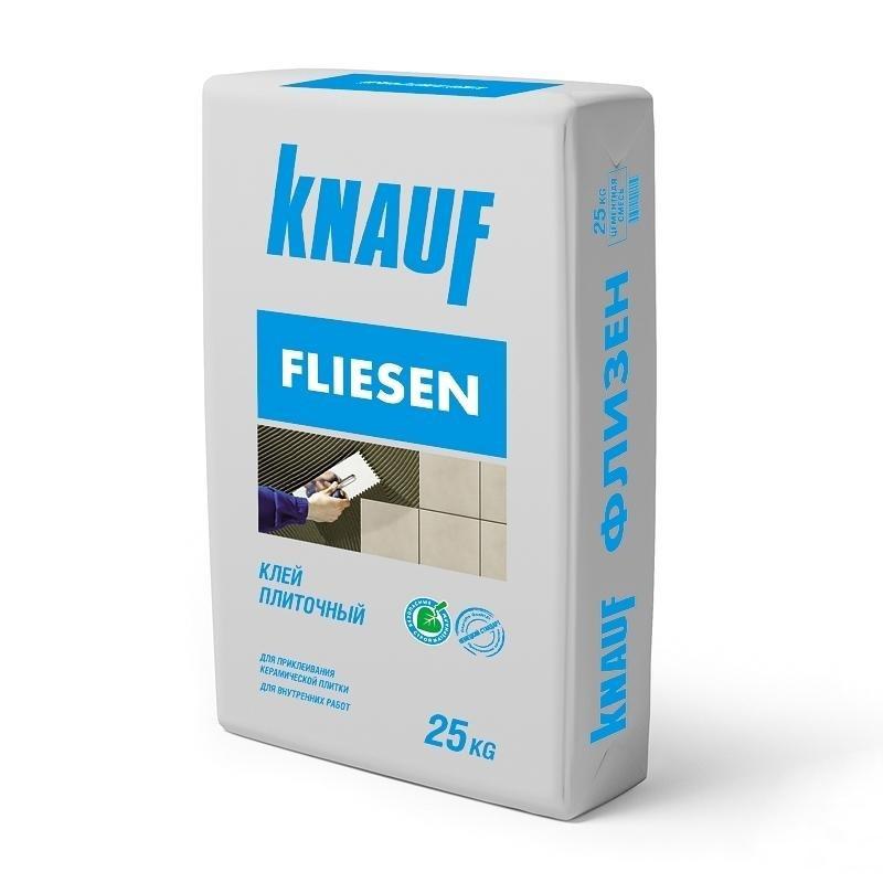 Эластичный клей для кафеля Кнауф
