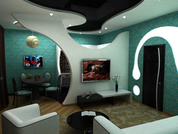 Невероятный дизайн комнаты