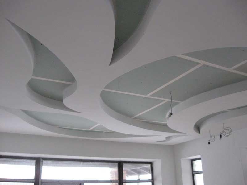 Монтаж многоуровневой конструкции