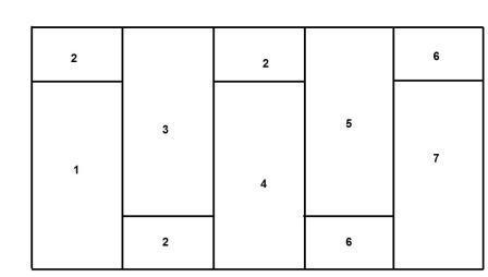 Схема монтажа гипсокартона для перегородки