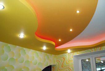 чем красить потолок из гипсокартона