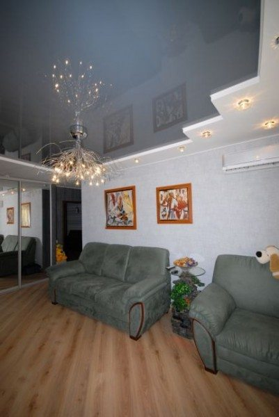 дизайн гипсокартонные потолки