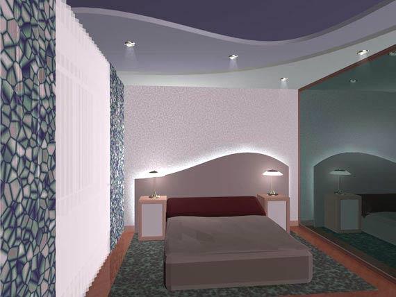 дизайн потолков с гипсокартона