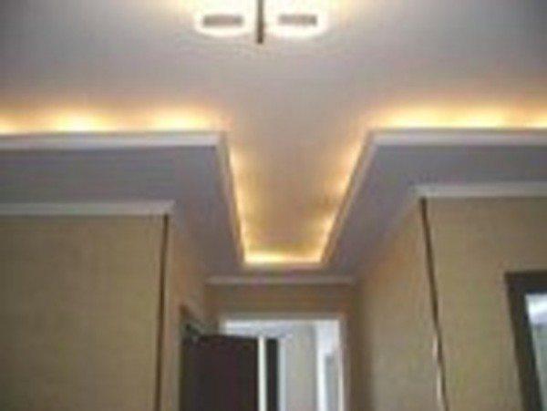 дизайнерские потолки из гипсокартона