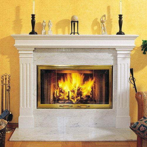Для создания домашнего очага совсем не обязательно экспериментировать с огнеопасными элементами
