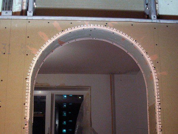 дверные арки из гипсокартона