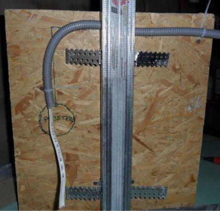 электропроводка под гипсокартон
