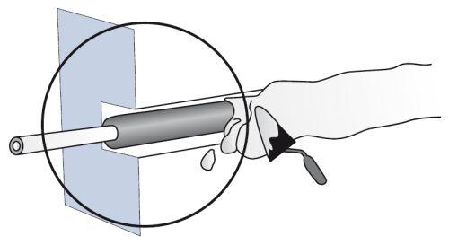 электропроводка в гипсокартонных перегородках